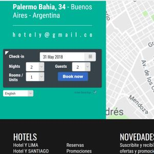 Youth hostel website reservations system