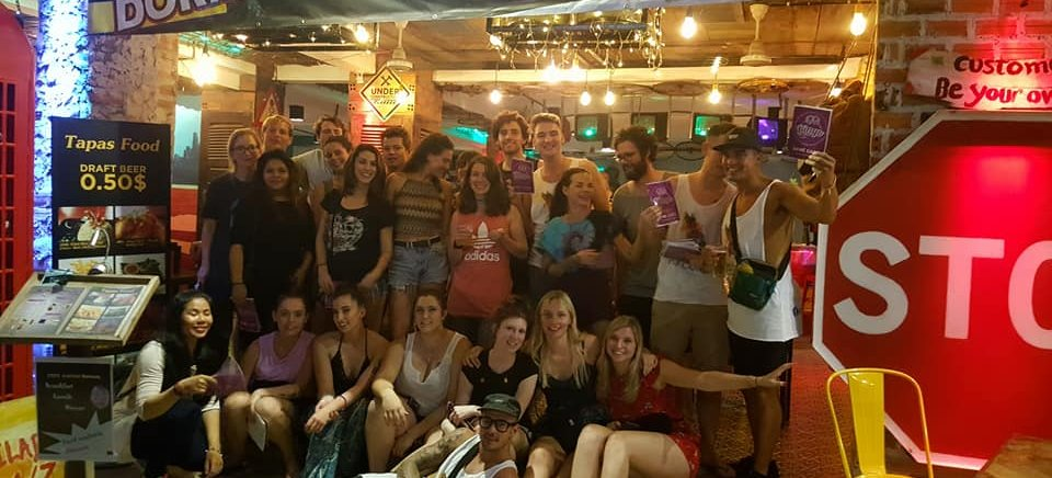 Hangover Hostel and Bar, Siem Reap, Cambodia